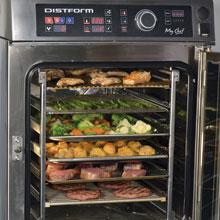 hornos mixtos compactos